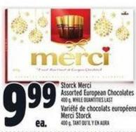 Storck Merci Assorted European Chocolates 400 g