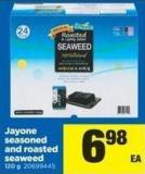 Jayone Seasoned And Roasted Seaweed - 120 G