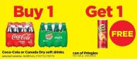 Coca-cola Or Canada Dry Soft Drinks - 8x300 mL