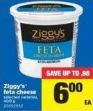Ziggy's Feta Cheese - 400 g