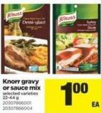 Knorr Gravy Or Sauce Mix - 22-44 g