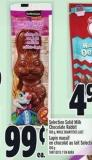 Selection Solid Milk Chocolate Rabbit