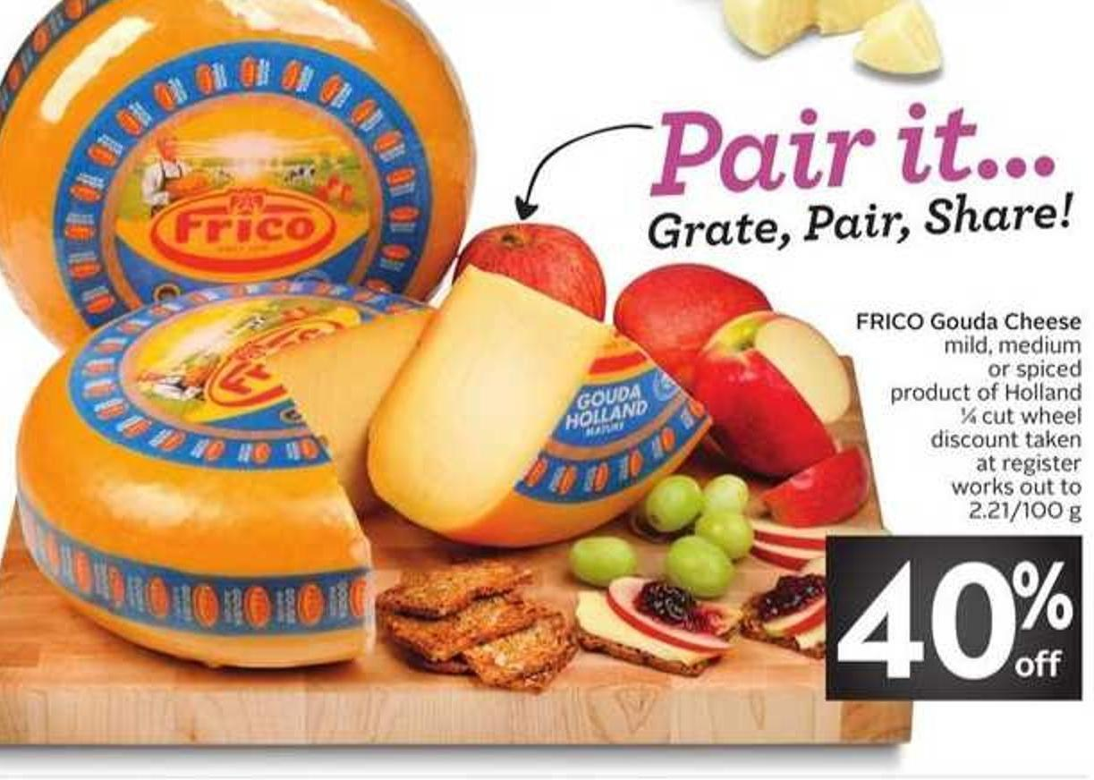 Frico Gouda Cheese