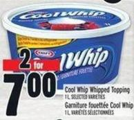 Cool Whip Whipped Topping 1 L