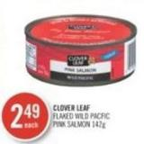 Clover Leaf Flaked Wild Pacfic Pink Salmon 142 g