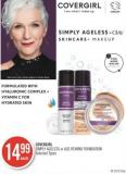 Covergirl Simply Ageless or Age Rewind Foundation