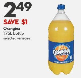 Orangina  1.75l Bottle
