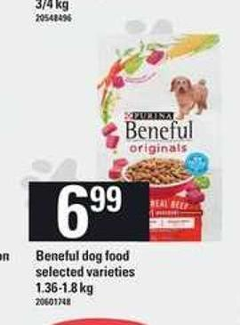 Beneful Dog Food - 1.36-1.8 Kg