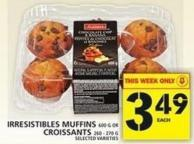 Irresistibles Muffins Or Croissants