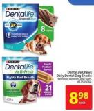 Dentalife Chews Daily Dental Dog Snacks