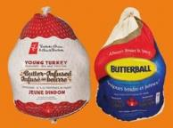 PC Frozen Turkeys Butter-infused Or Butterball Frozen Turkeys - 3-5 Kg