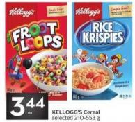 Kellogg's Cereal