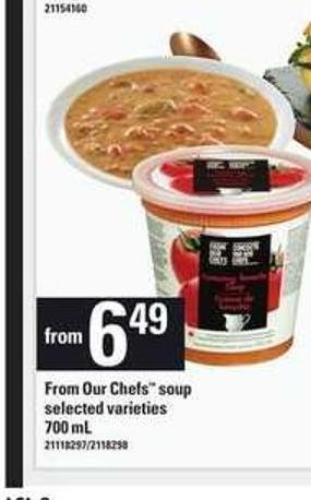 From Our Chefs Soup - 700 mL