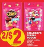 Kellogg's Cereal Pouch - 80/87 g