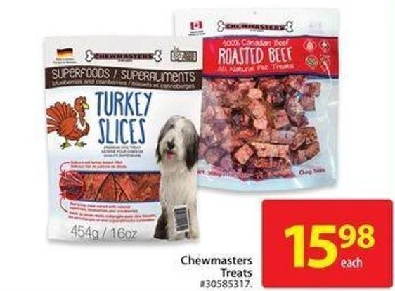 Chewmasters Treats