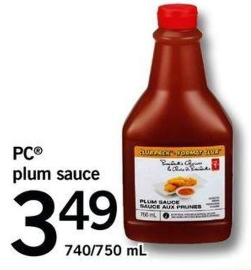PC Plum Sauce - 740/750 Ml