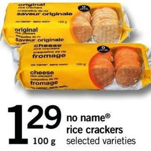 No Name Rice Crackers - 100 G