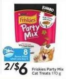 Purina Friskies Party Mix Cat Treats - 8 Air Miles Bonus Miles