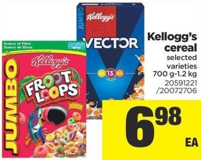 Kellogg's Cereal - 700 G-1.2 Kg