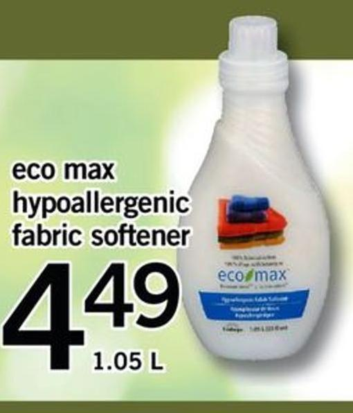 Eco Max Hypoallergenic Fabric Softener