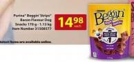Purina Beggin' Strips Bacon Flavour Dog Snacks