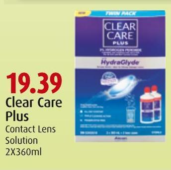 Clear Care Plus