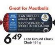Lean Ground Chuck 454 g