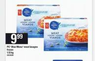 PC Blue Menu Meat Lasagna - 1.13 Kg