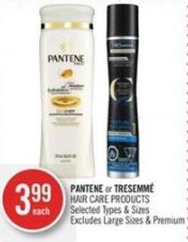 Pantene or Tresemmé Hair Care Products