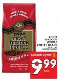 Eight O'clock Whole Coffee Beans