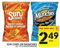 Sun Chips Or Munchies