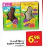 Russell Stover Rabbit Multipack