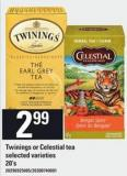 Twinings Or Celestial Tea - 20's