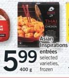 Asian Inspirations Entrees - 400 G