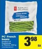 PC French Beans Or Mexico - 400 G
