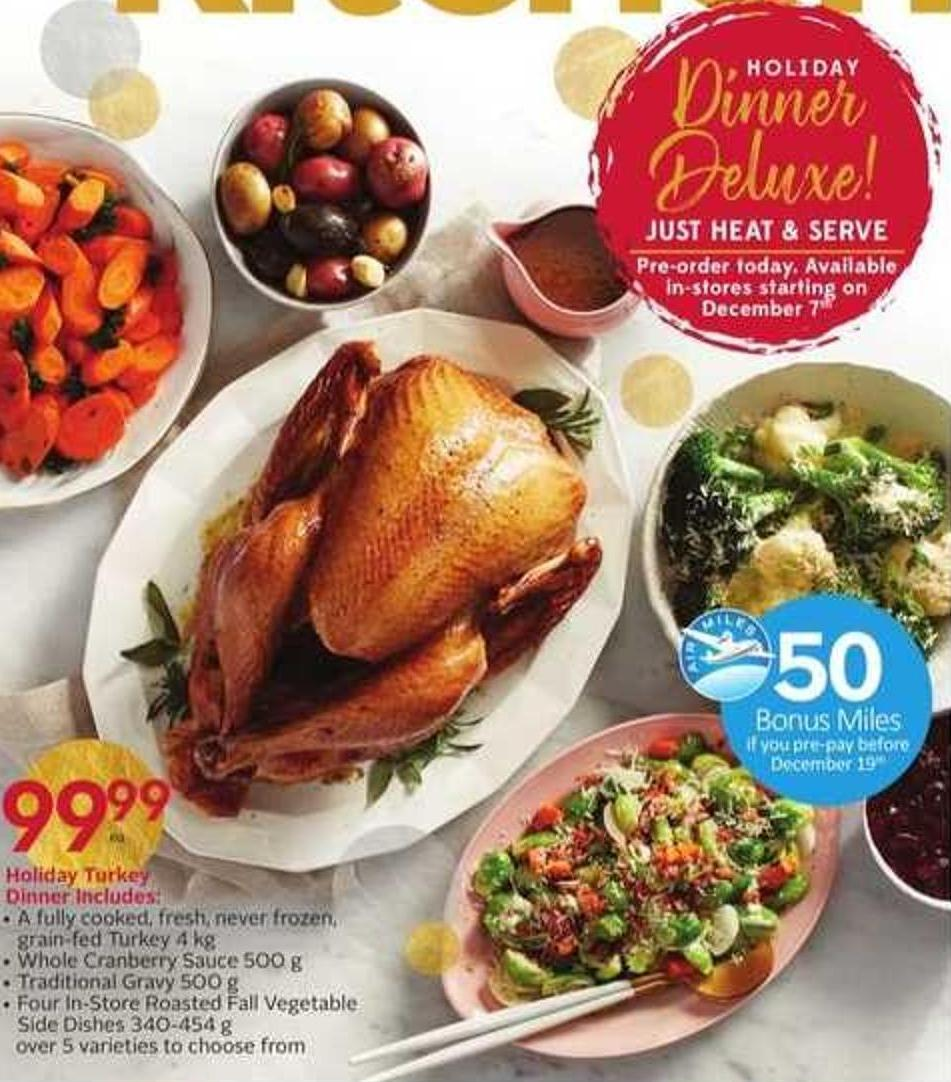 Holiday Turkey - 50 Air Miles Bonus Miles