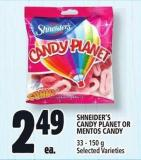 Shneider's Candy Planet Or Mentos Candy