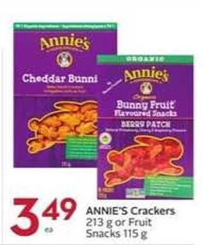 Annie's Crackers