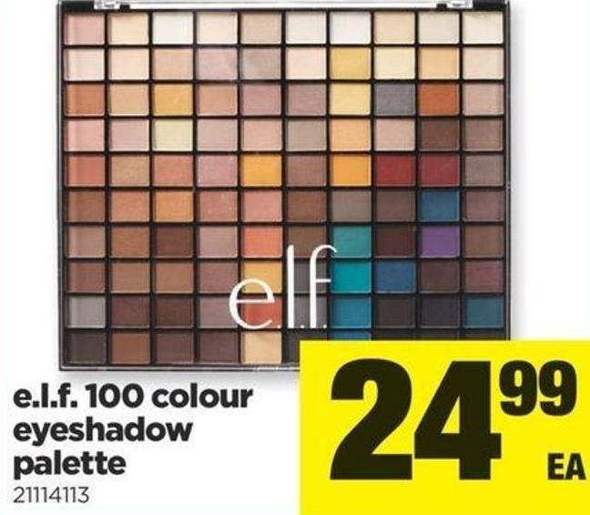 E.l.f. 100 Colour Eyeshadow Palette