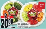Soccer Fruit Tray 1.2 Kg Soccer Vegetable Tray 965 g