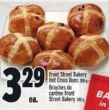 Front Street Bakery Hot Cross Buns 380 G