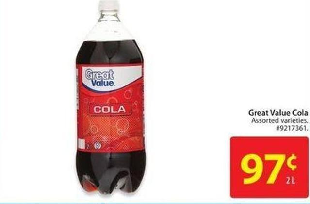 Great Value Cola