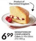 Sensations By Compliments Cakes