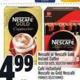 Nescafé Or Nescafé Gold Instant Coffee