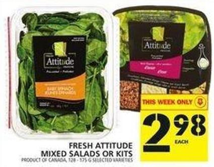 Fresh Attitude Mixed Salads Or Kits