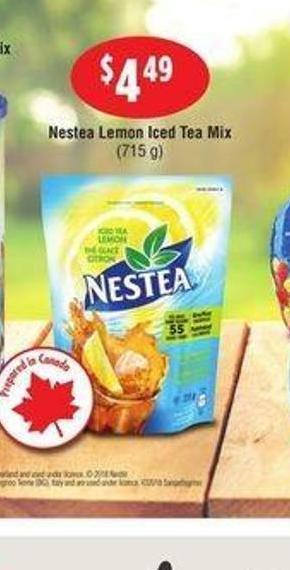 Nestea Lemon Iced Tea Mix - 715 g