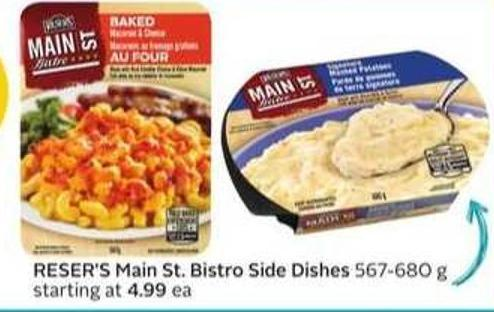 Reser's Main St. Bistro Side Dishes - 15 Air Miles Bonus Miles