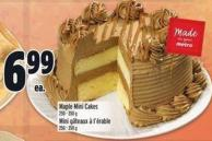 Maple Mini Cakes 250 - 350 g