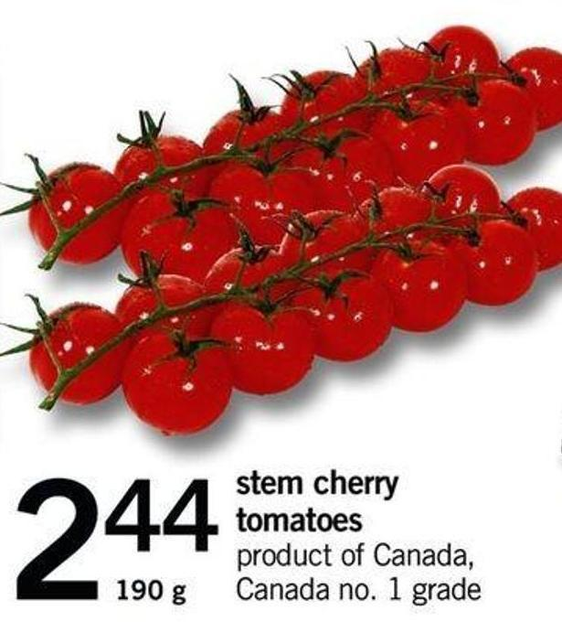 Stem Cherry Tomatoes - 190 G