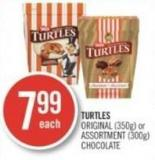 Turtles Original (350g) or Assortment (300g) Chocolate